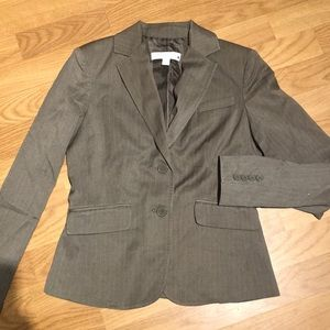 New York & Company brown blazer size 0